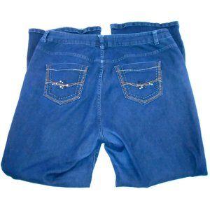 Lane Bryant Jeans 18 Jeweled Back Pockets